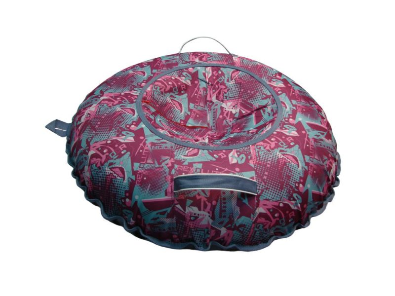 Тюбинг (Санки ватрушки) Undoor на розовом 100 см