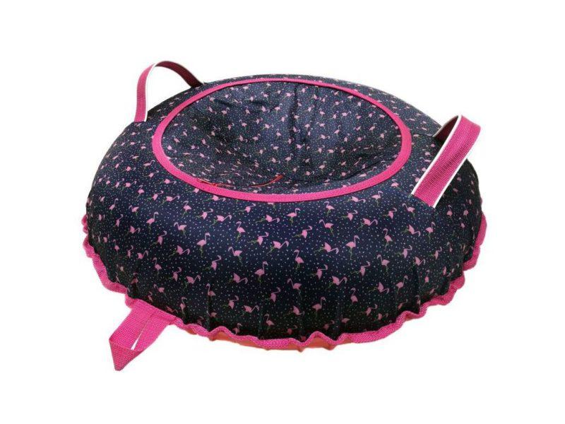 Тюбинг (Санки ватрушки) Фламинго 100 см