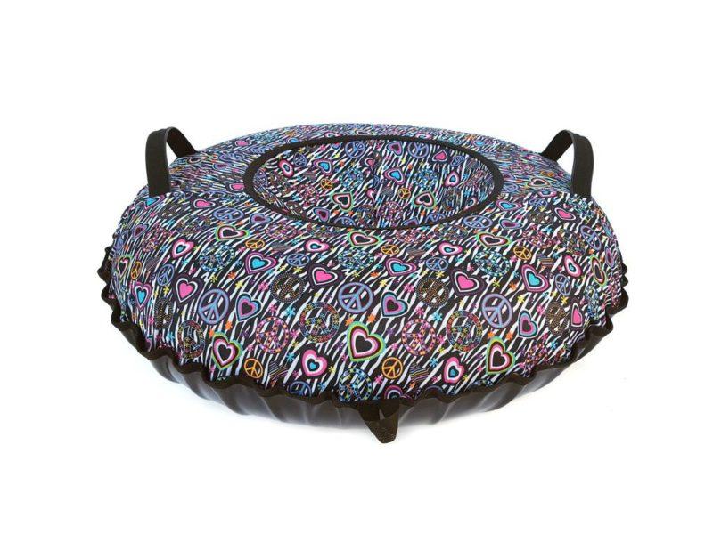 Тюбинг (Санки ватрушки) Хиппи 110 см