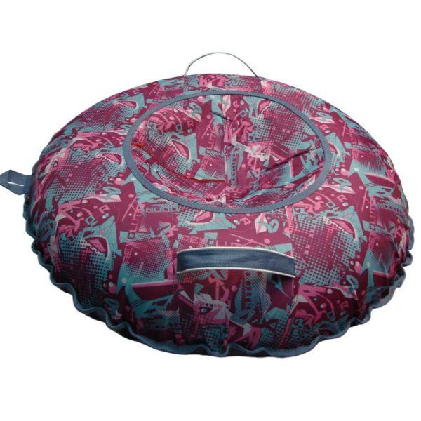 Тюбинг (Санки ватрушки) Undoor на розовом 110 см